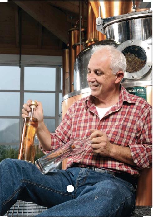 Bruno Pilzer distillatore Trentino