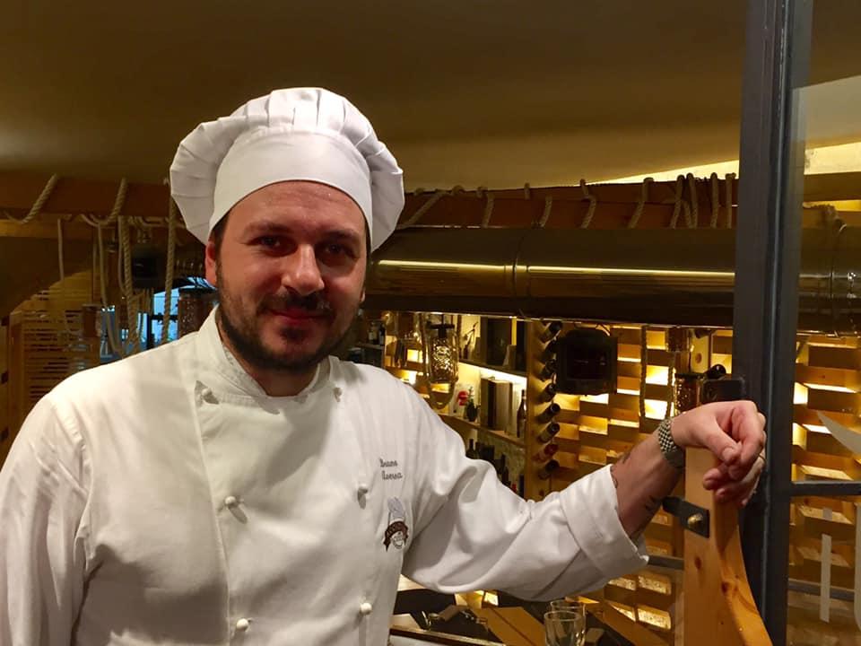 ll Gozzo a Salerno, lo chef Bruno Aversa