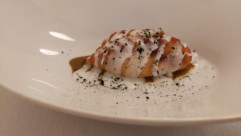 EVO ristorante – l'antipasto DUMPLINGS