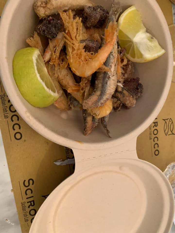 Scirocco Sicilian Fish Lab, fritturina
