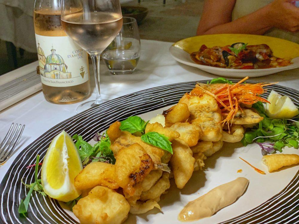 La Zagara, frittura mista di pesce