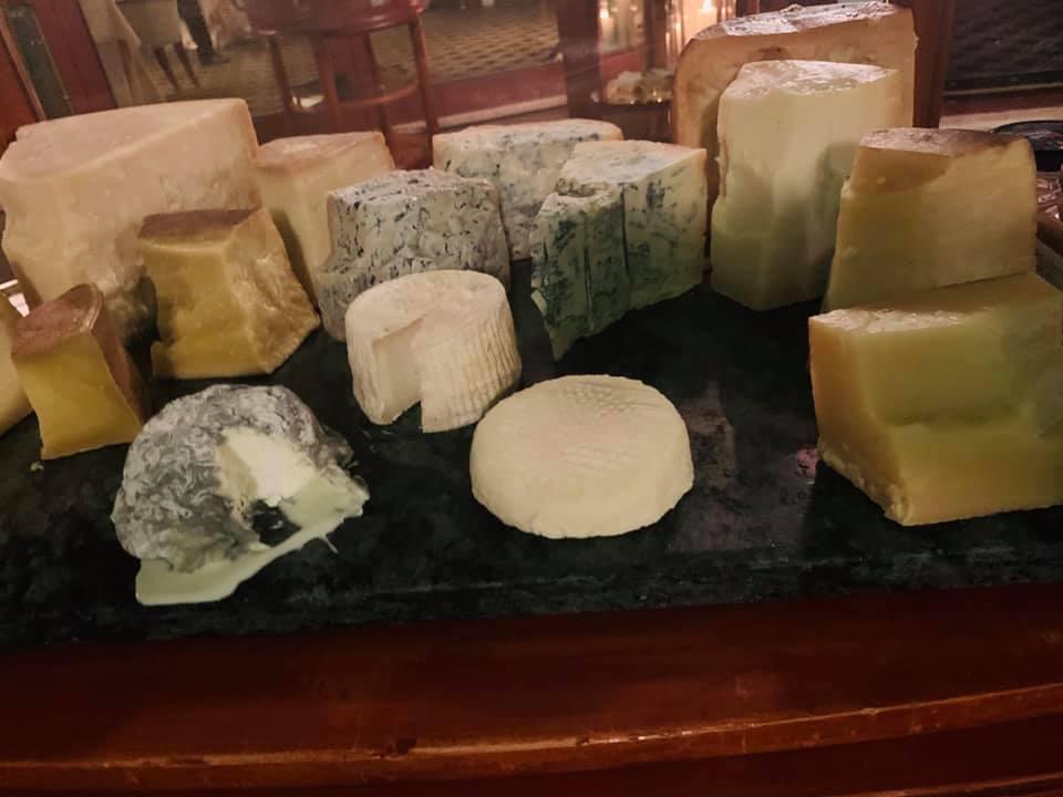 La Pergola - I formaggi
