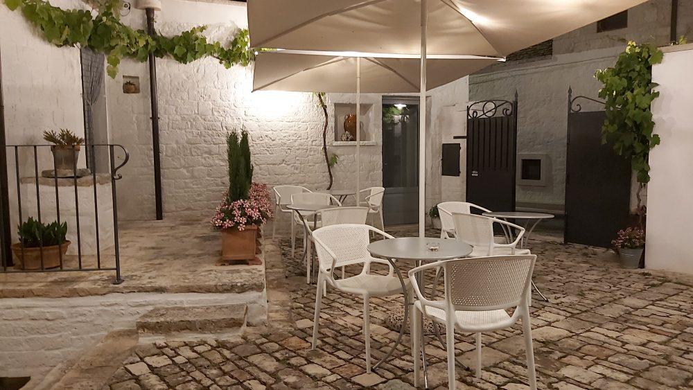 EVO ristorante – corte interna