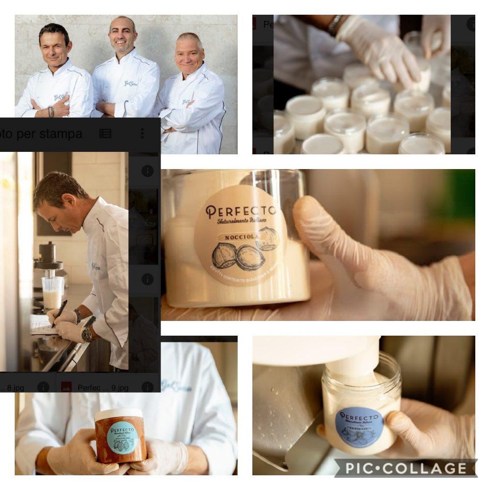 Perfecto Stefano Ferrara gelatiere, Daniele Frasca imprenditore e Flavio Di Gregorio