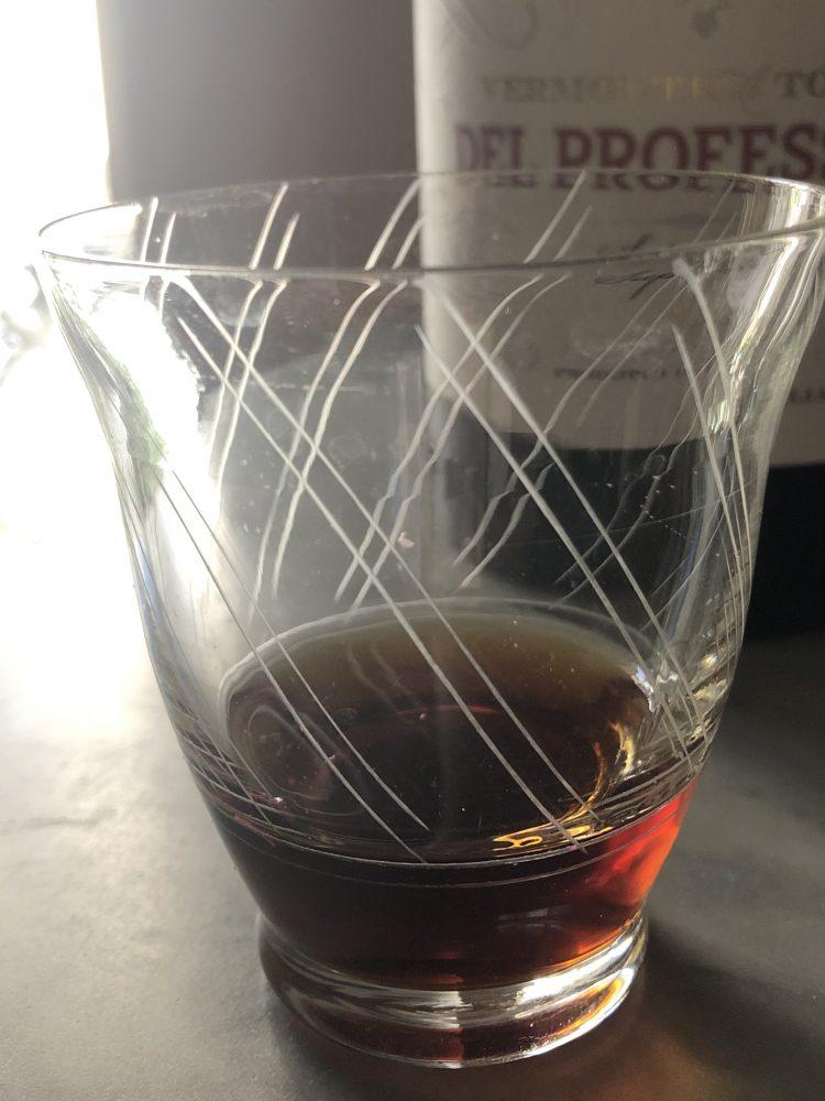 Vermouth Di Torino Superiore Del Professore