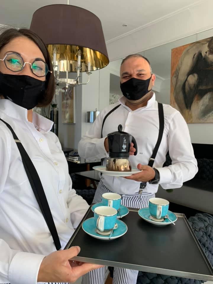 Il caffe' con la moka e' un segno di civilta'