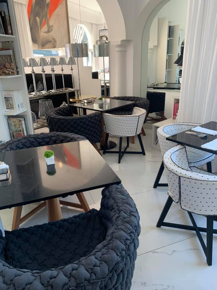 Hotel Villa Franca, una sala interna