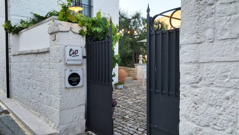EVO ristorante – Ingresso esterno
