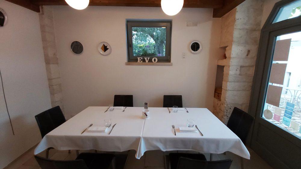 EVO ristorante – sala interna