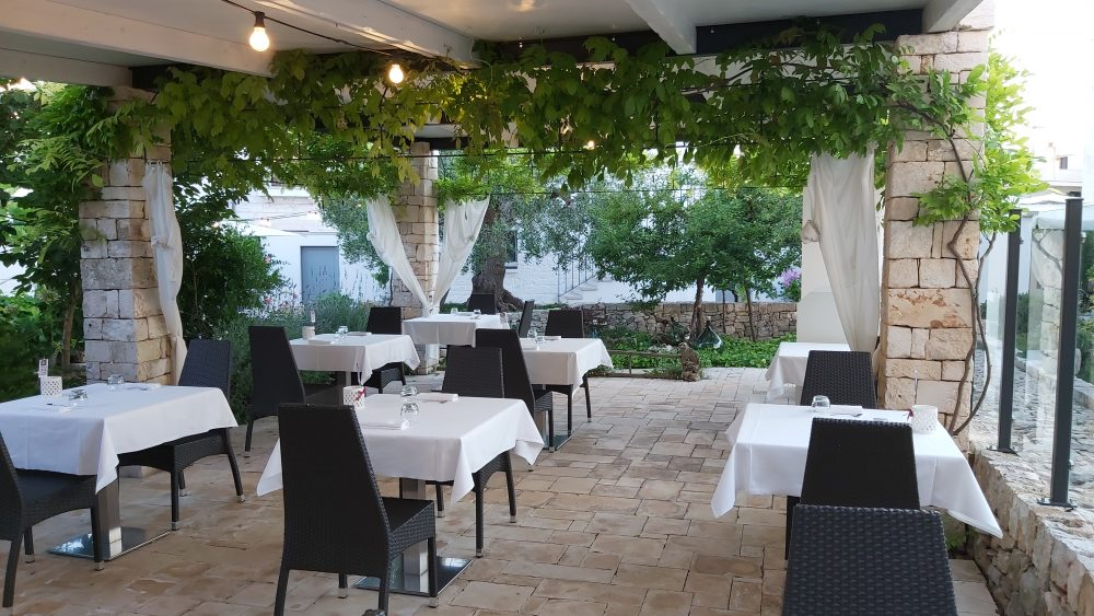 EVO ristorante – dehor garden