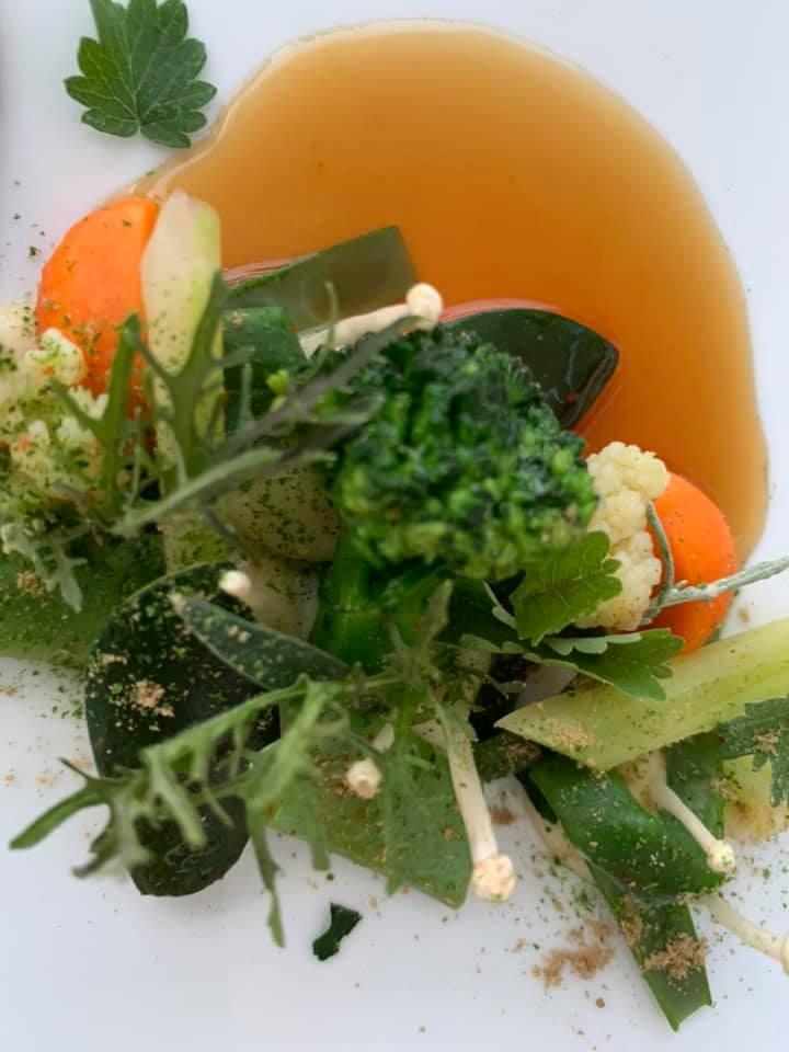 La Pergola - L'insalata