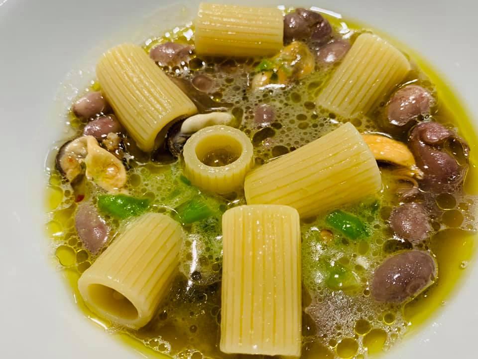 Marianna Vitale, pasta, fagioli e cozze