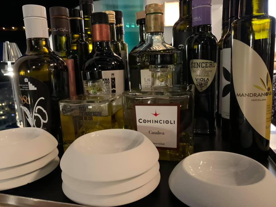 Hotel Villa Franca, la degustazione degli oli italiani
