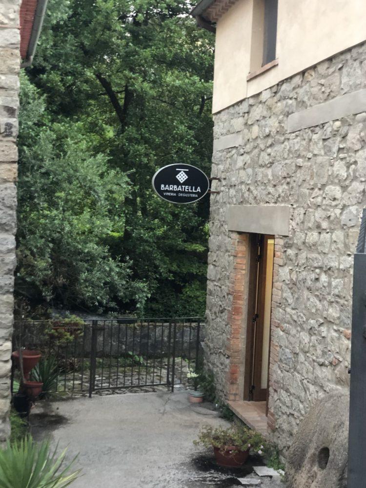 Barbatella - ingresso