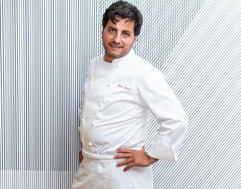 Lo chef Felice Sgarra