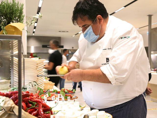 Chef Gennaro Esposito evento Dolce&Gabbana