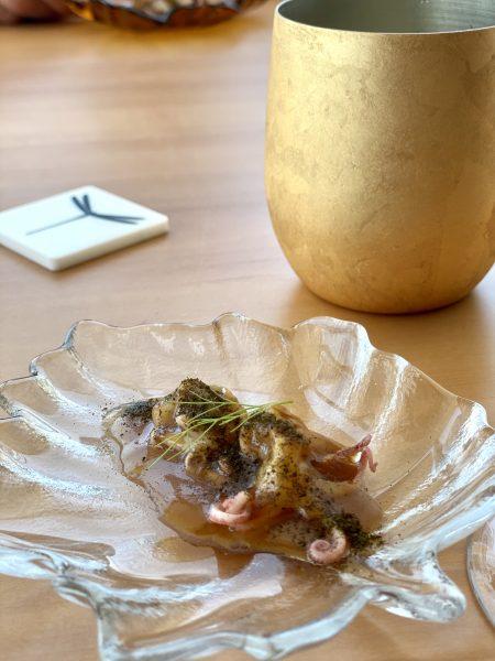 Contaminazioni Restaurant - Baby Moscardino e miso