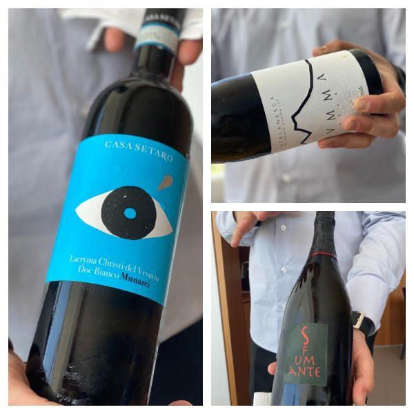 Contaminazioni Restaurant - vini del Vesuvio