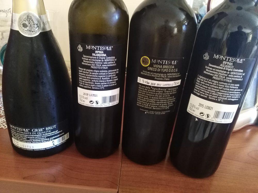 Controetichette vini Montesole