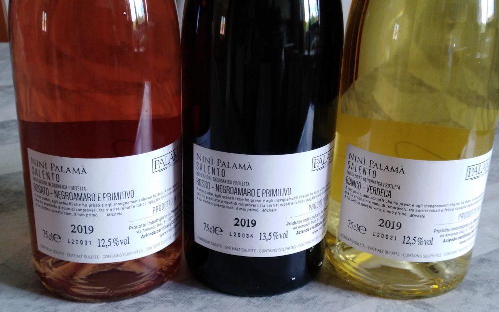 Controetichette vini Palama'
