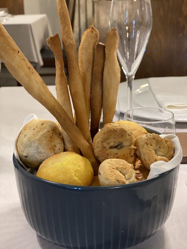Don Lisandro Osteria Moderna - cestino del pane