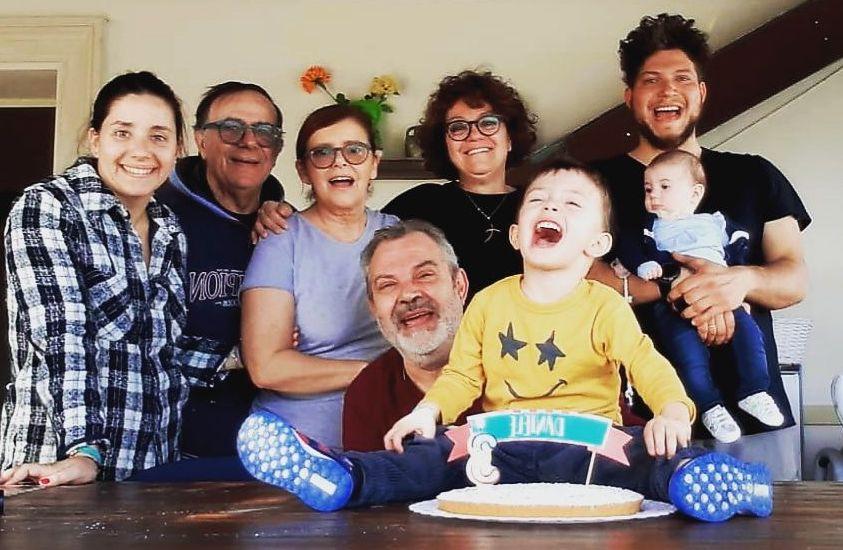 Famiglia Palama' quasi al completo