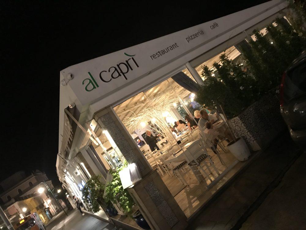Al Capri', Esterni
