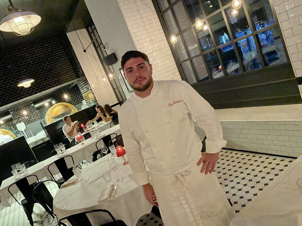 Tivoli 3, Lo Chef Luigi D'Antonio