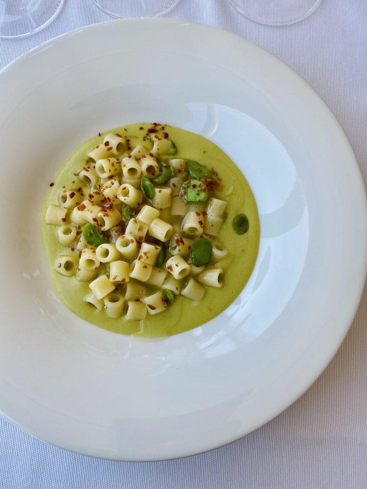 Green Resort De Marco - Tubetto del Pastificio Graziano con fave pancetta e pecorino