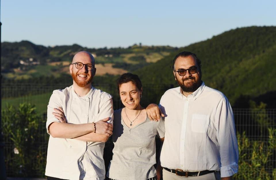Gubbio, Tenuta Borgo Santa Cecilia. Alessio Pierini, Serena Sebastiani, Giuseppe Onorati
