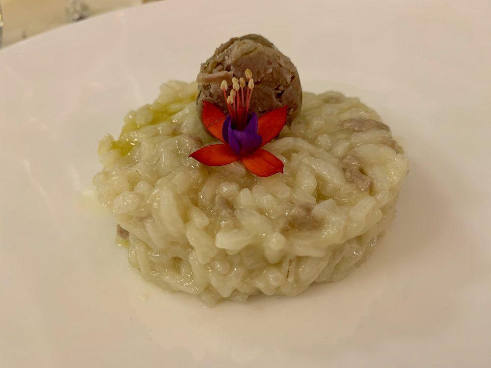 L'A Cena Dali'-riso alla salsiccia