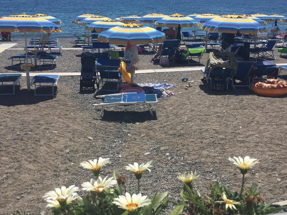 Lido Delphinus, la spiaggia
