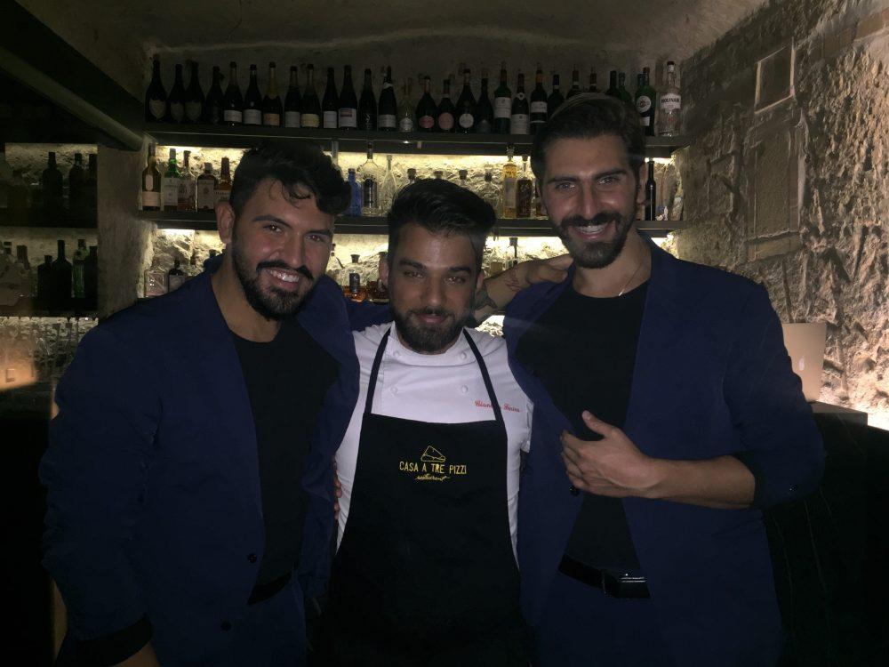 Mirko Notaro, Gianluca Farina e Andrea Notaro