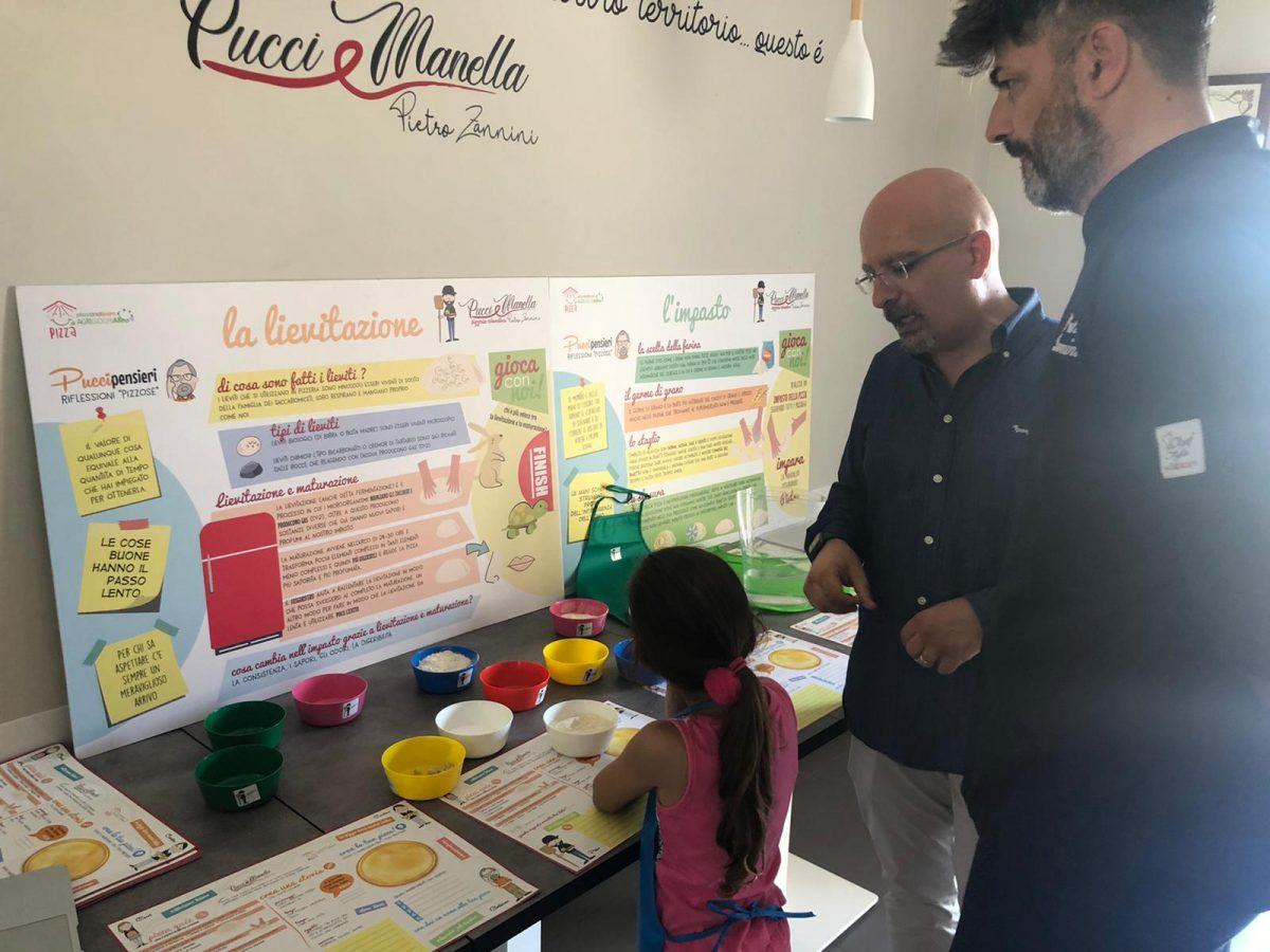 Pucci e Manella, a lezione di pizza