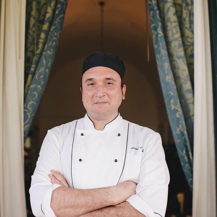 Antonio Cioffi lo chef della Vecchia Cantina di Ravello