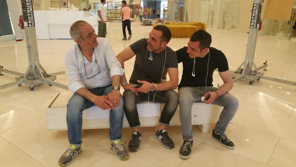 Patrizio, Marco e Fabio Infante