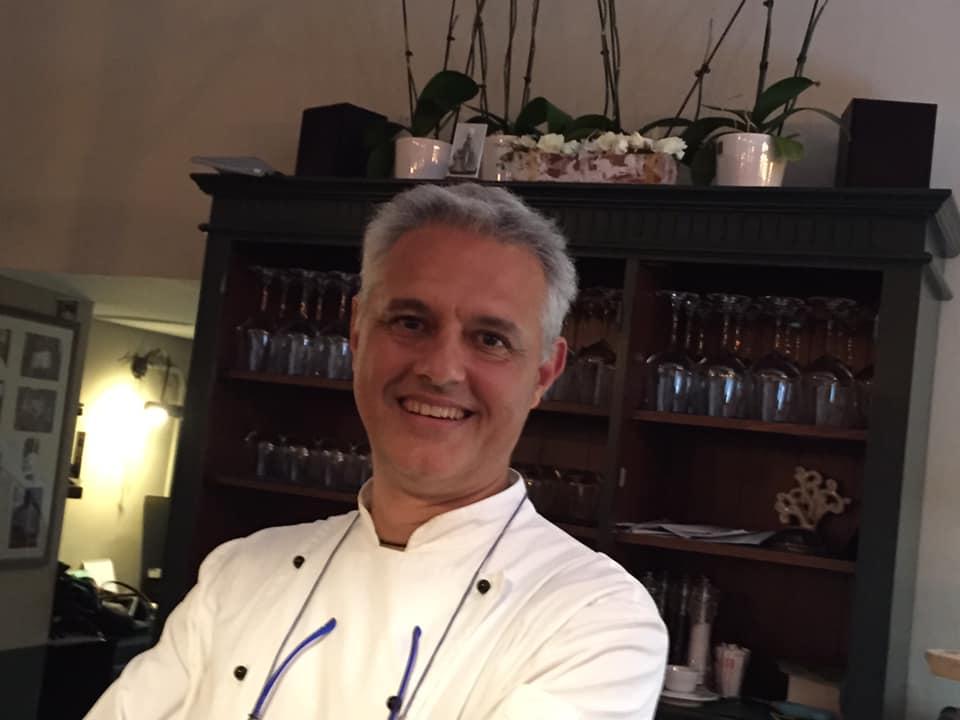 Pietro Moro, pizzeria Sant'Agostino a Tuscania
