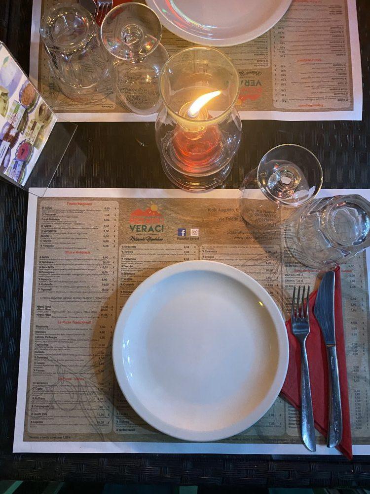 Pizzaioli Veraci - mise en place