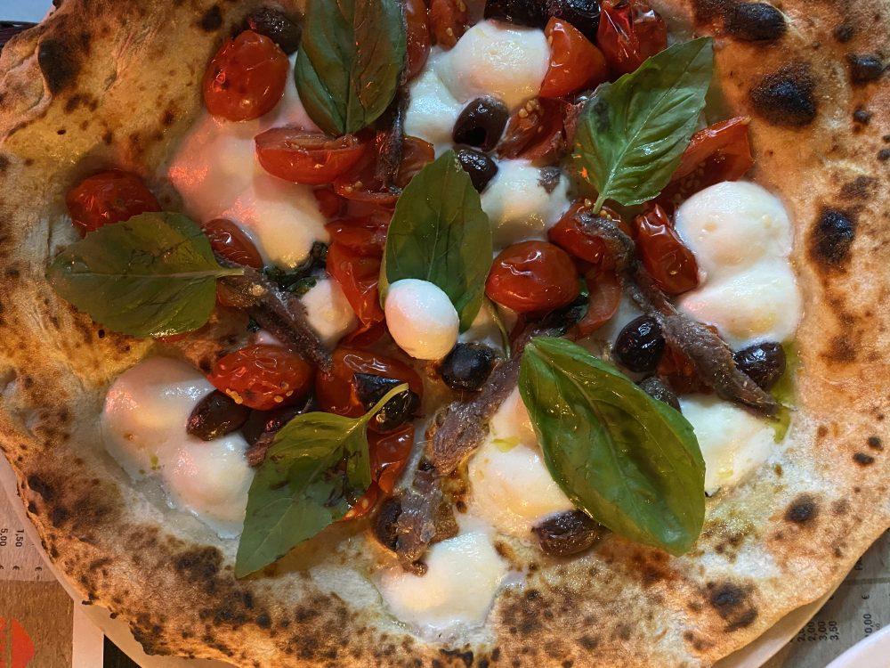Pizzaioli Veraci - pizza 'A Mediterranea