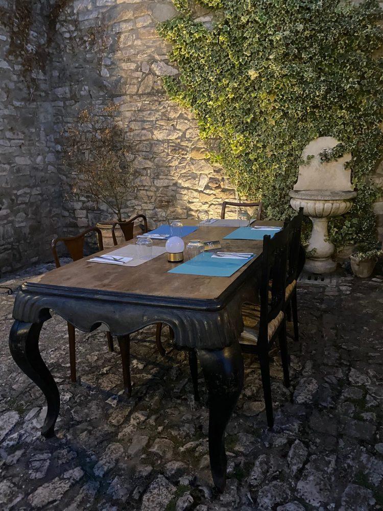 Pizzeria Forte Evo - cortile