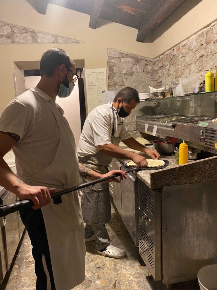 Pizzeria Forte Evo - Gerardo Rossi e collaboratore