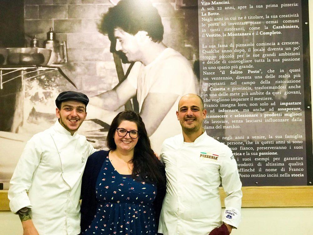 Pizzeria Il Solito Posto - Dana Pagliaro, Davide Iodice e Marco Papa