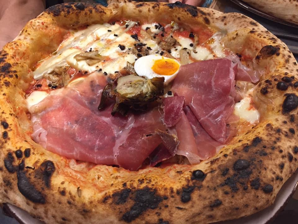 S. Isidoro Pizza e Bolle, la Capricciosa