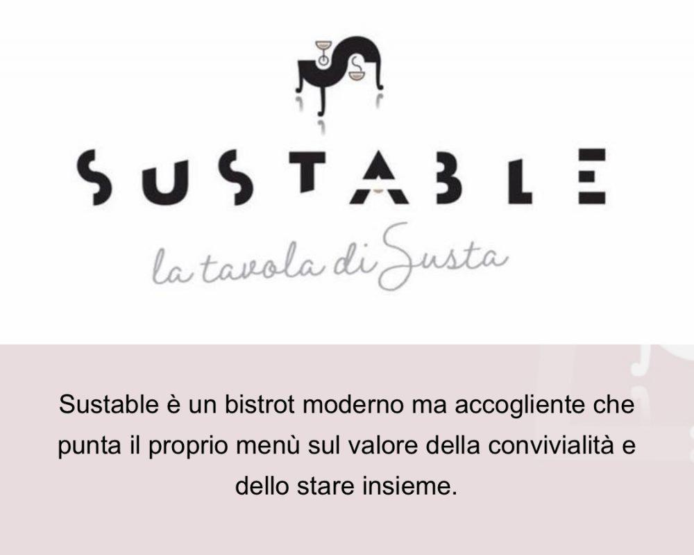 Sustable - menu' digitale