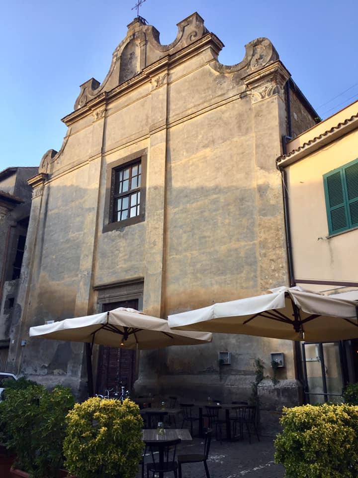 pizzeria Sant'Agostino, Tuscania, ingresso