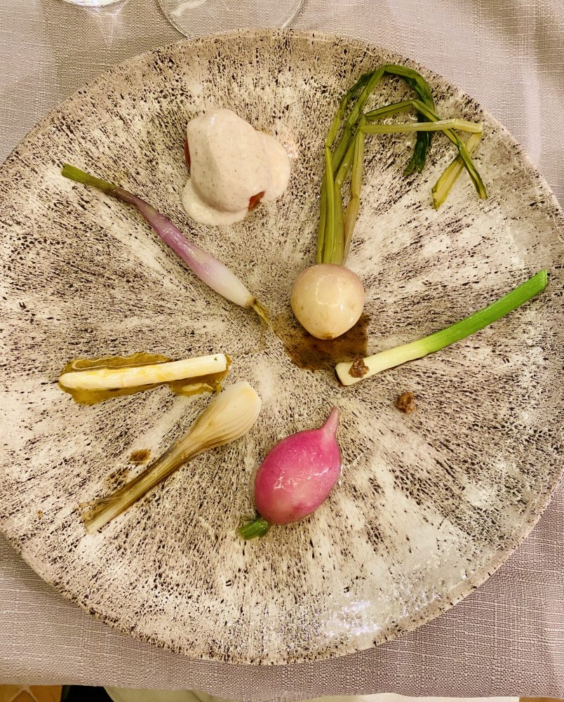 Casa Palladino Enosteria Contemporanea - Il vegetale e kombucha al caffe. Chef Iacoviello