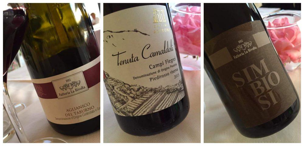 Villa Marchesa Cilento, i vini