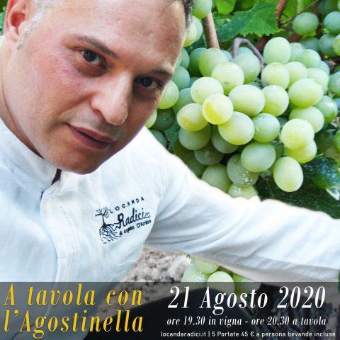 Angelo D'Amico, chef dell'agostinella