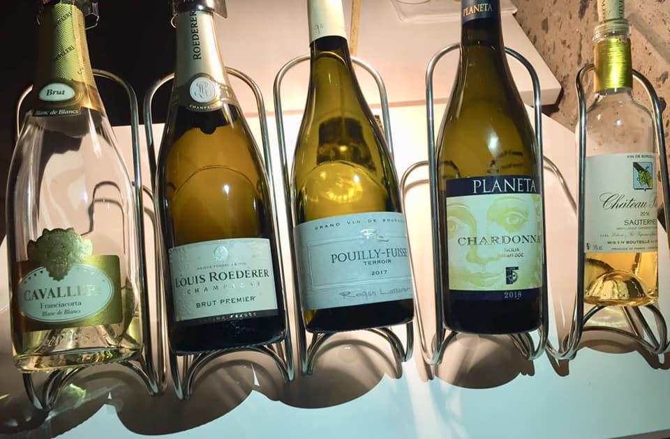 Lorelei Sorrento, i vini della serata
