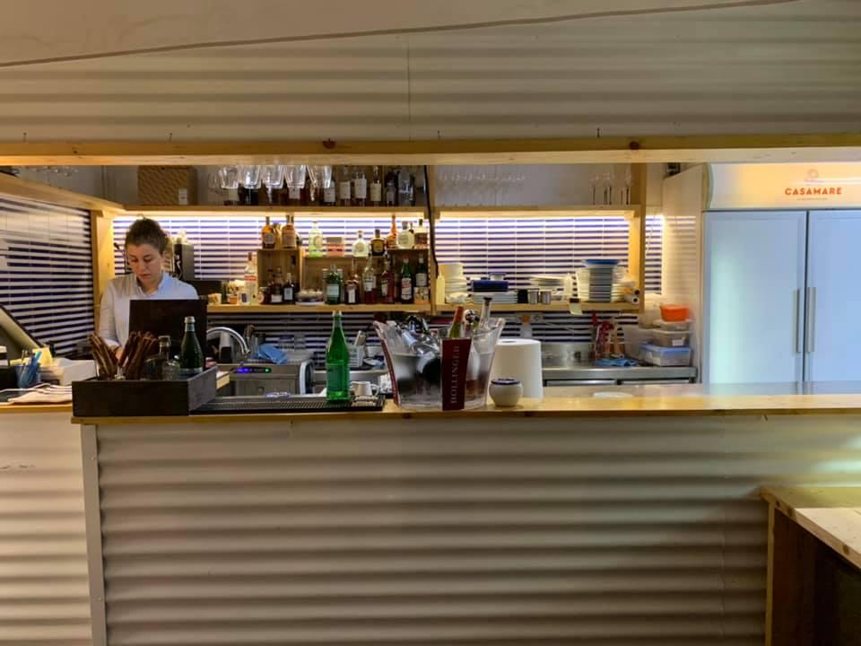 Casamare, Il bancone bar